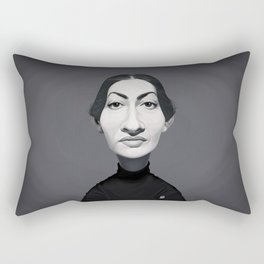 Maria Callas Rectangular Pillow