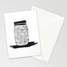Smiles jar Stationery Cards