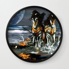 TWO IN ONE SHADOW Wall Clock