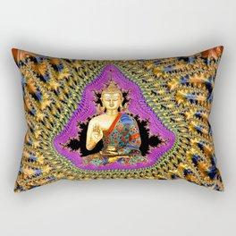 Buddha Mandelbrot Set Rectangular Pillow