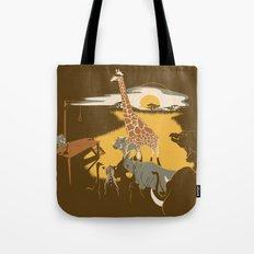 Savanna Trampler Tote Bag