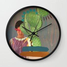 CACTUS QUEEN Wall Clock