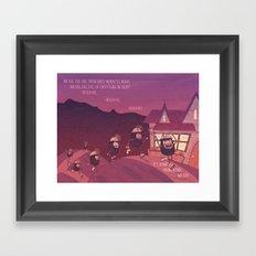 Heigh Ho, Heigh Ho! Framed Art Print