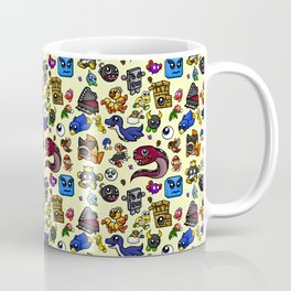 Friends and Foes of the 64-bit Plumber Coffee Mug