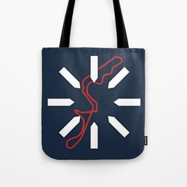 Damon Hill Tote Bag
