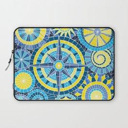Mosaic Pinwheels Laptop Sleeve