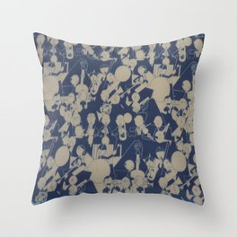 and the band played on Throw Pillow