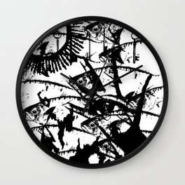 Hand of Mysteries Wall Clock