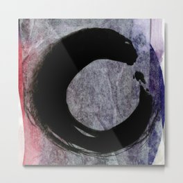 The Enso Of Zen M4 by Kathy Morton Stanion Metal Print
