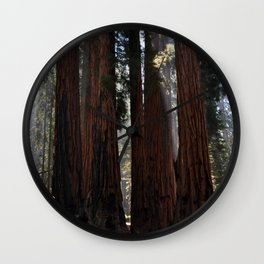 Sequoia National Forest Wall Clock