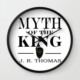 Myth of the King cover Wall Clock