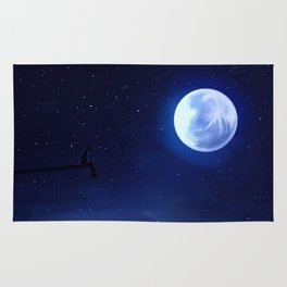Talking to the Moon Rug