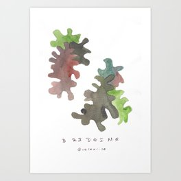 Matisse Inspired | Becoming Series || Bridging Art Print