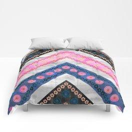 Bali Bali Chevron Multi Comforters