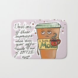Monday Coffee Bath Mat