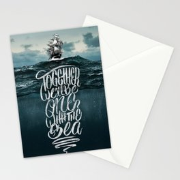 One With The Sea Stationery Cards