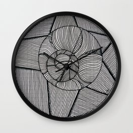 Everything is Connected Wall Clock