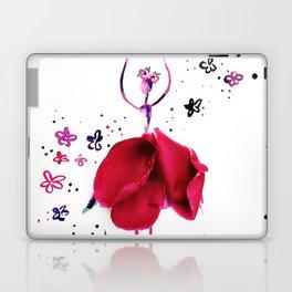 Flower Dancer Laptop & iPad Skin