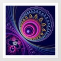 Colourful circles and patterns by walstraasart