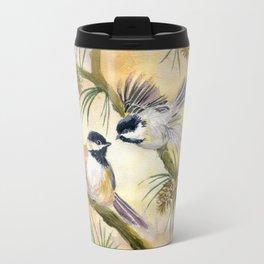 Chickadees Travel Mug