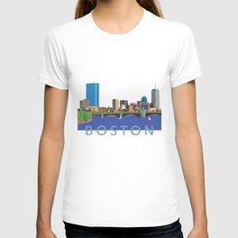 Back Bay Boston Skyline T-shirt