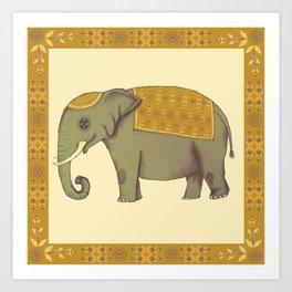 eleph Art Print