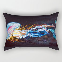 Nebula Jellyfish Rectangular Pillow
