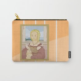 Lady with Unicorn by Raphael Carry-All Pouch
