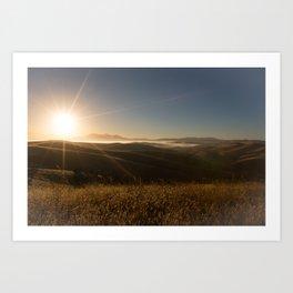 Sunrise Sunshine Art Print
