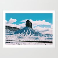 colorado Art Prints featuring Colorado by juliaamaryyy