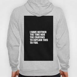 funny sarcastic quote Hoody