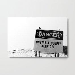 San Diego Signage Metal Print