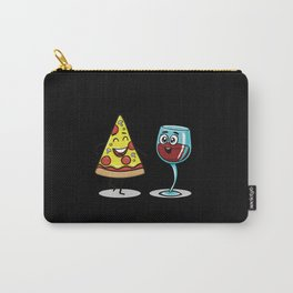 Kawaii Pizza and Wine Friends Carry-All Pouch