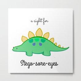 Stego-sore-eyes Metal Print