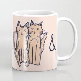 BOOTS & CATS Coffee Mug