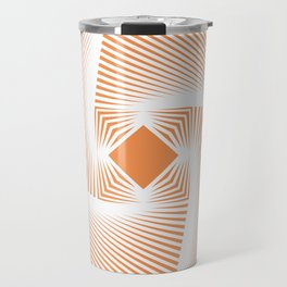 Square Pyramid Travel Mug
