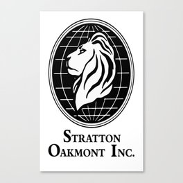 The Wolf of Wall Street Stratton Oakmont Inc Canvas Print