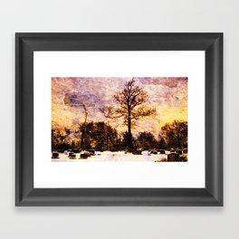 Land of the Dead Framed Art Print
