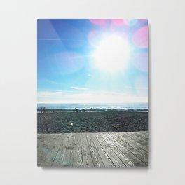 Boardwalk Metal Print