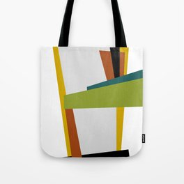 Mid Century Composition 2 Tote Bag