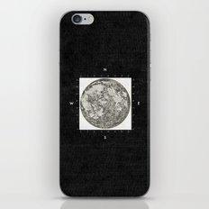 Moon Scale [Sans Black] iPhone & iPod Skin