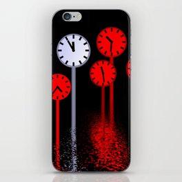 11th hour iPhone Skin