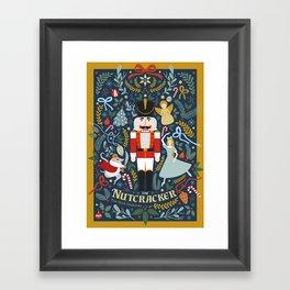 The Nutcracker Framed Art Print