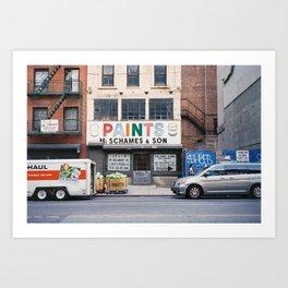 Essex St Art Print