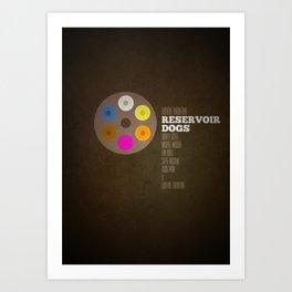 Reservoir dogs v2 Art Print