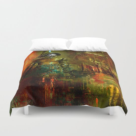 The last gladiator Duvet Cover