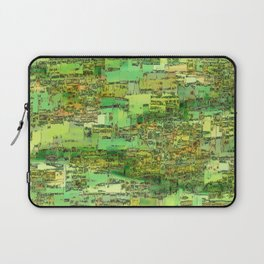 Green City on a Hill Laptop Sleeve