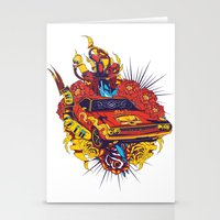 muscle Stationery Cards featuring Muscle by Tshirt-Factory