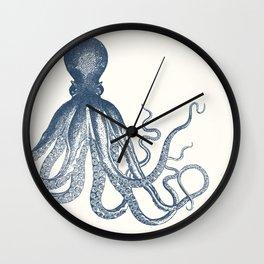 Offset Octopus Wall Clock