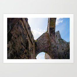 Abandoned Abbey Art Print